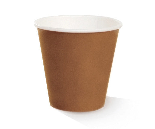 *8oz PLA Coated Single Wall Cup /one-lid-fits-all 1000 per carton