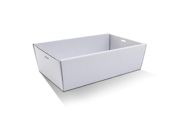 White Catering Tray-Medium