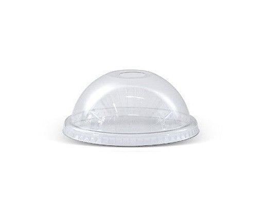 PET transparent dome lid / die cut hole