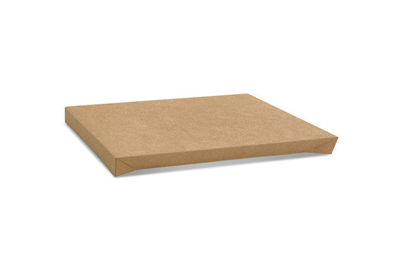 Kraft Catering Tray Lid No Window - Medium