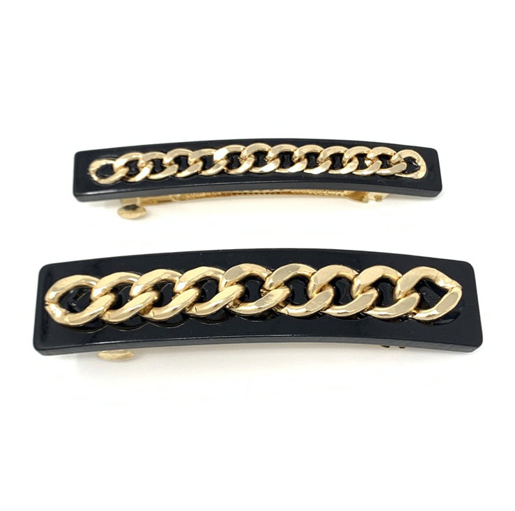 Chain Reaction Barrette