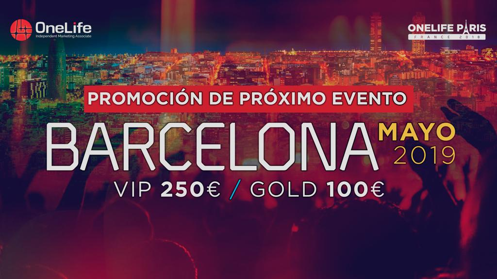 Barcelone European Event Mai 2019