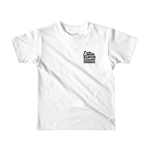 Kid's Extra Super Logo (White)