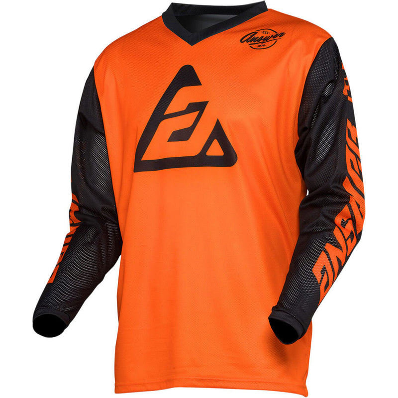 ANSWER 2020 ARKON BOLD ORANGE/BLACK JERSEY