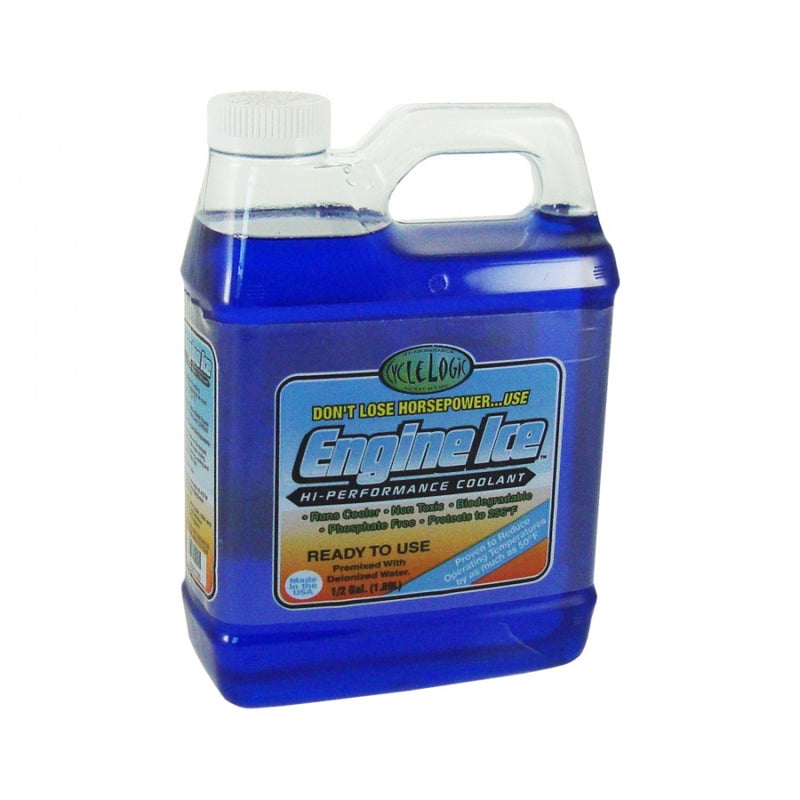 CYCLE LOGIC ENGINE ICE 1/2 GAL. COOLANT (1.89L) | ENGINE ICE | MX247 Motorcycle Parts, Clothes & Accessories