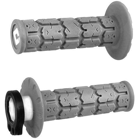 ODI ROGUE SOFT COMPOUND GREY 2T/4T LOCK ON GRIPS