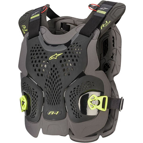 ALPINESTARS A1 PLUS BLACK/FLURO BODY ARMOUR
