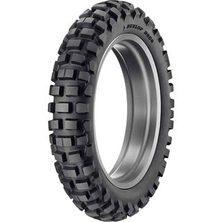 DUNLOP D606 STREET LEGAL KNOBBYS DOT 120/90-18 REAR TYRE