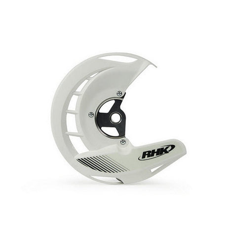RHK FRONT DISC COVER GUARD WHITE KAWASAKI KX250F 2006 - 2017