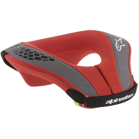ALPINESTARS YOUTH SEQUENCE NECK ROLL RED/BLACK/GREY