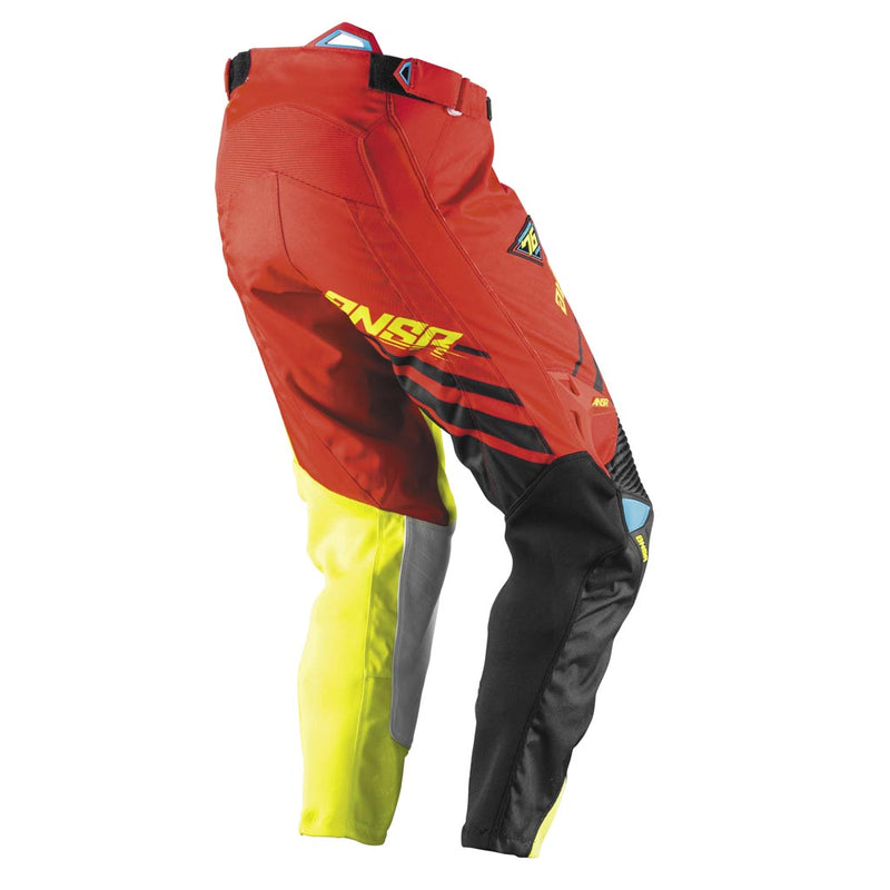 ANSWER A17 ALPHA PANTS RED/BLACK