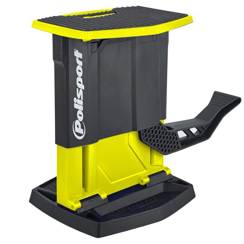 POLISPORT FOLDING LIFT STAND YELLOW