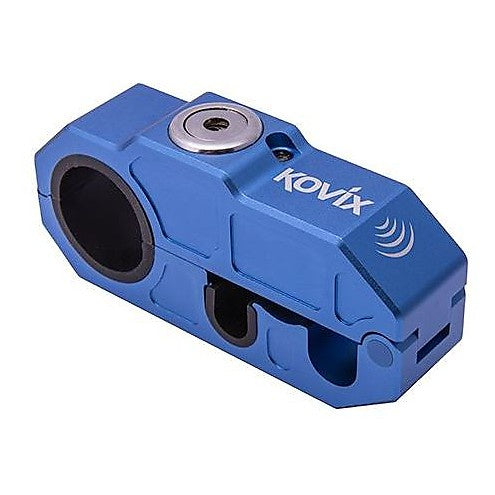 KOVIX KHL BLUE BRAKE LEVER LOCK WITH ALARM