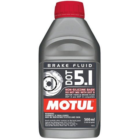 MOTUL 500ML DOT 5.1 BRAKE FLUID