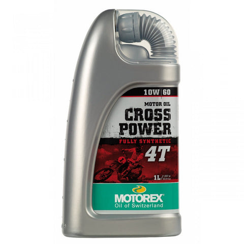 MOTOREX 1L 10W60 4T CROSS POWER 4 STROKE OIL