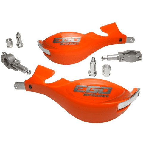 "BARKBUSTERS EGO ORANGE 7/8"" BARS HANDGUARDS"