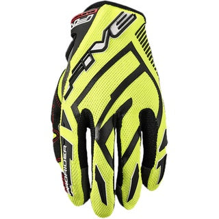 FIVE MXF PRO RIDER S FLURO YELLOW GLOVES