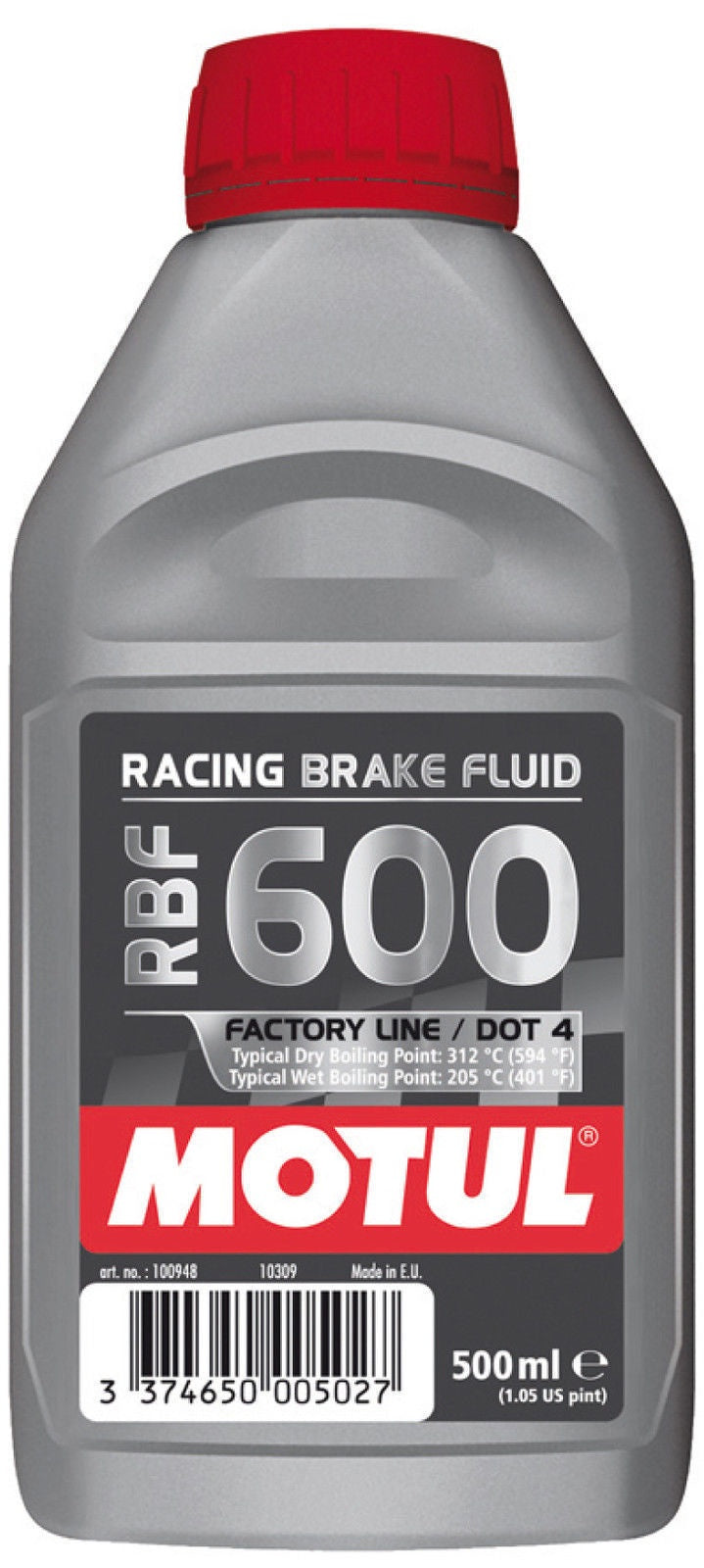 MOTUL 500ML DOT 4 600 RACING BRAKE FLUID