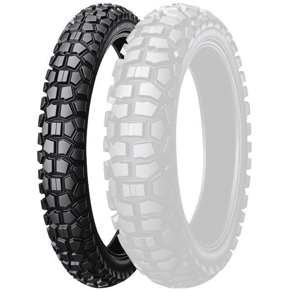 DUNLOP D605F DUAL SPORT ROAD/TRAIL 3.00-21 FRONT TYRE