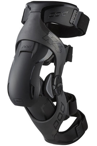 POD K4 2.0 GRAPHITE/BLACK KNEE BRACE