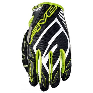 FIVE MXF PRO RIDER S BLACK/GREEN GLOVES