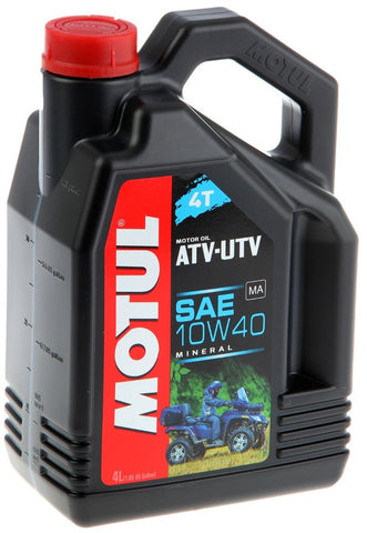 MOTUL ATV-UTV (QUAD) 10W/40 4L OIL