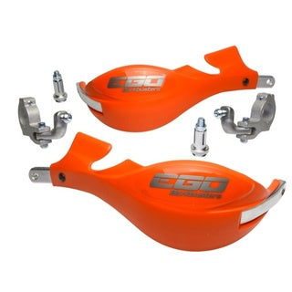 BARKBUSTERS EGO ORANGE TAPERED BARS HANDGUARDS
