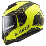 LS2 FF397 VECTOR EVO SIGN MATT HI-VIS YELLOW/BLACK HELMET