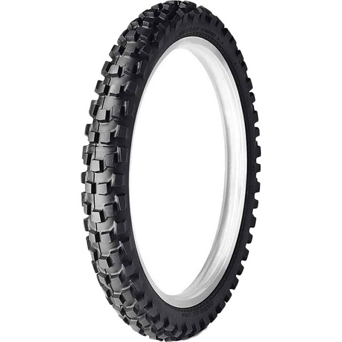 DUNLOP D606F STREET LEGAL KNOBBYS DOT 90/90-21 FRONT TYRE