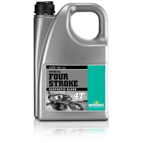 MOTOREX 4 STROKE 10W/40 4L SEMI SYNTHETIC ENGINE OIL