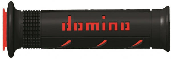 DOMINO GRIPS ROAD A250 BLACK RED