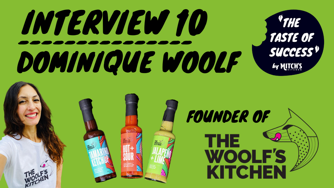 TTOS 10 - Dominique Woolf: The Woolf's Kitchen Sauces