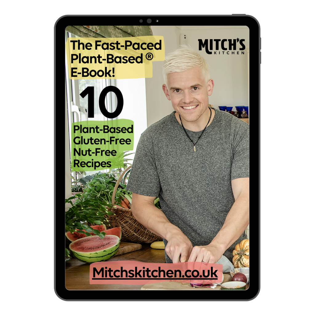FREE DOWNLOAD - The Fast-Paced Plant-Based E-Book!