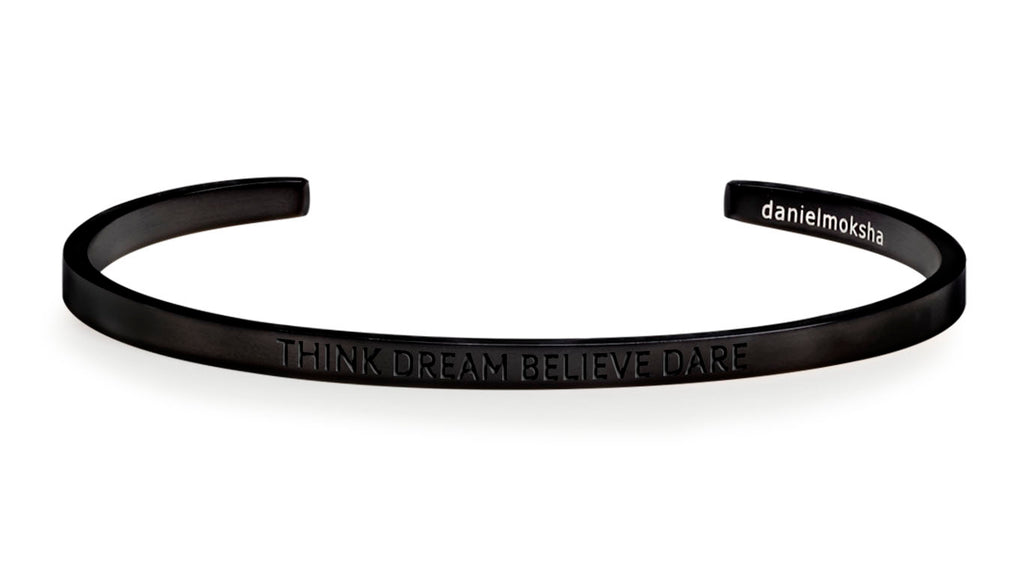 Pulsera Think Dream Believe Dare