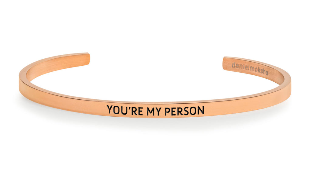 Pulsera You're my person