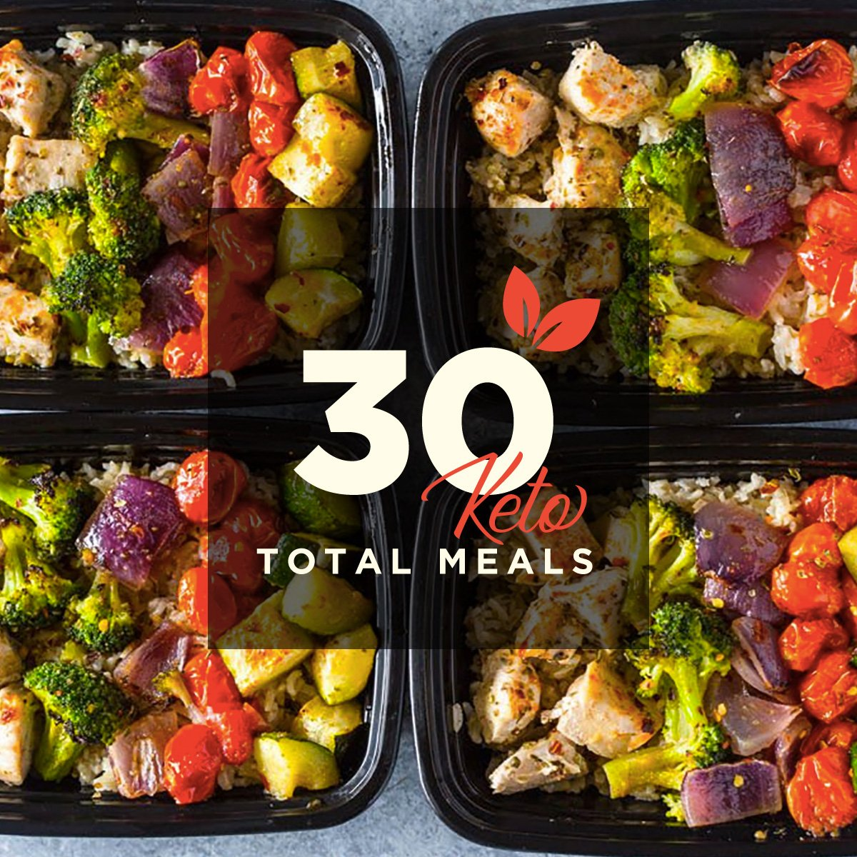 30 Meals for 30 Days (Keto)