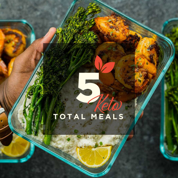 1 Meal/Day for 5 Days (Mon-Fri) (Keto) (Lean)