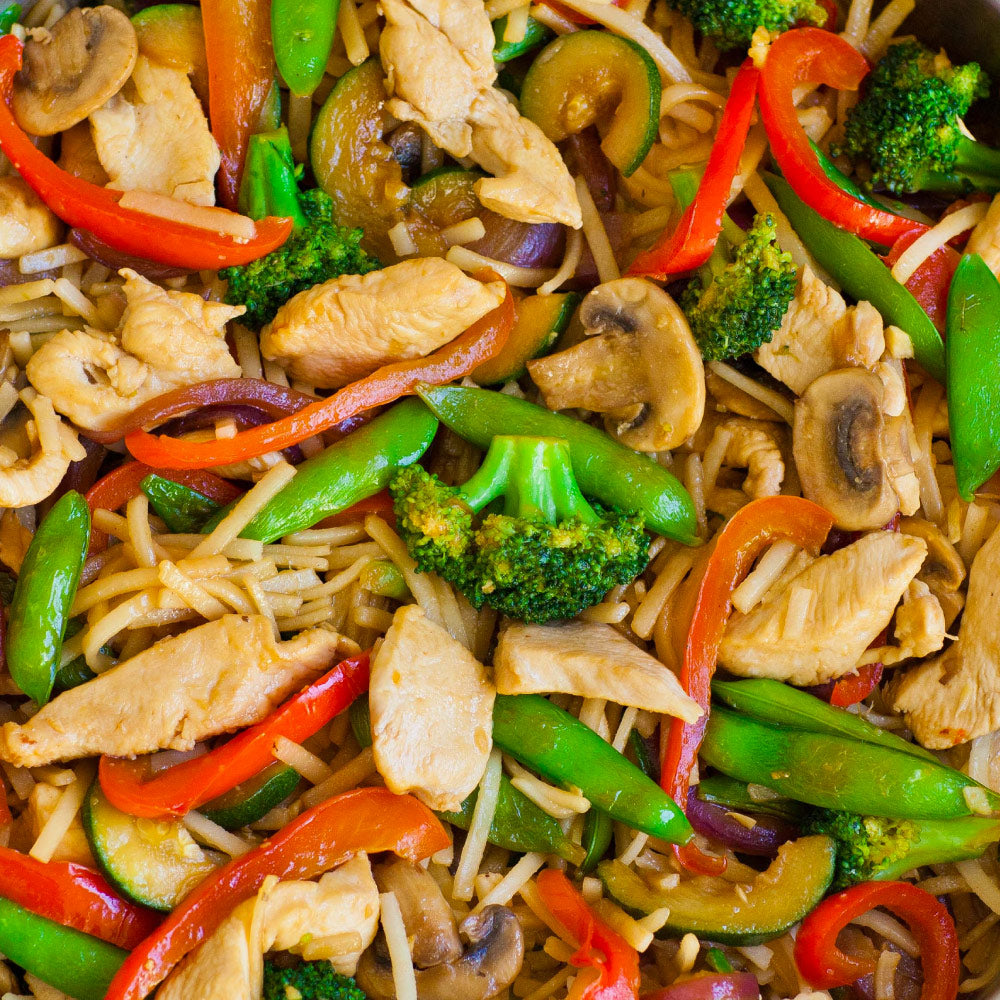 Killer Ninja Chicken Stir Fry Meal