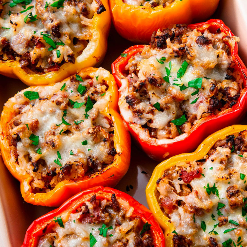 Nonna's Italian Stuffed Peppers