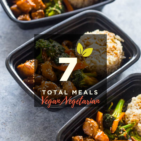 1 Meal/Day for 7 Days (Vegan/Vegetarian)