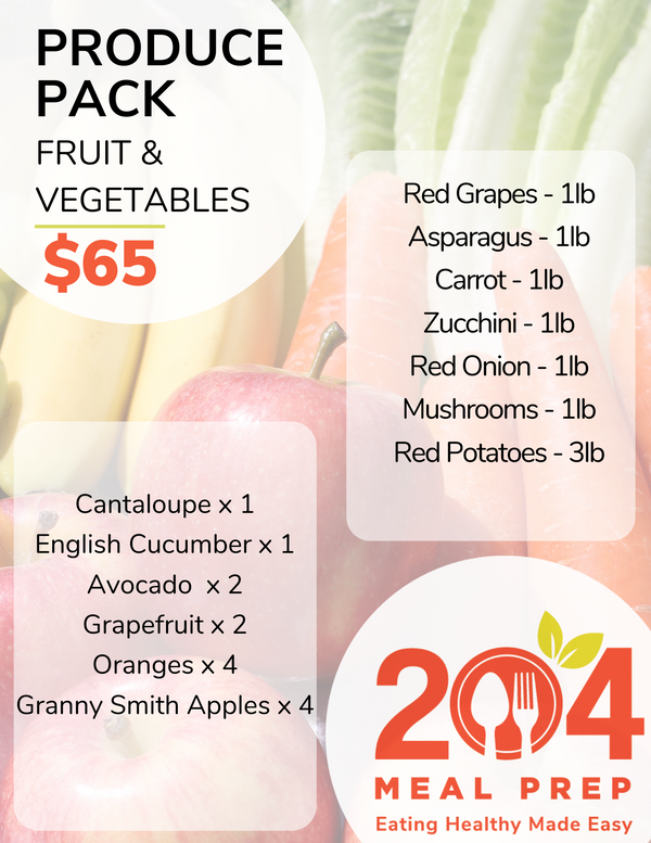 Produce Pack - Fruits & Vegetables