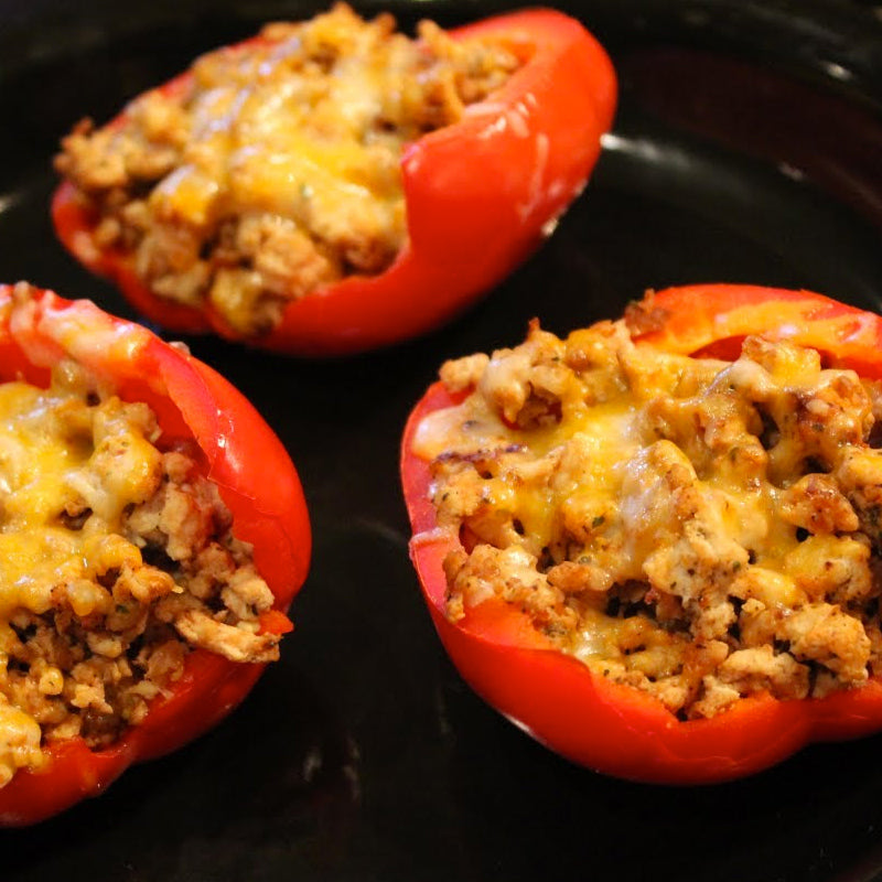 Keto Stuffed Peppers Meal