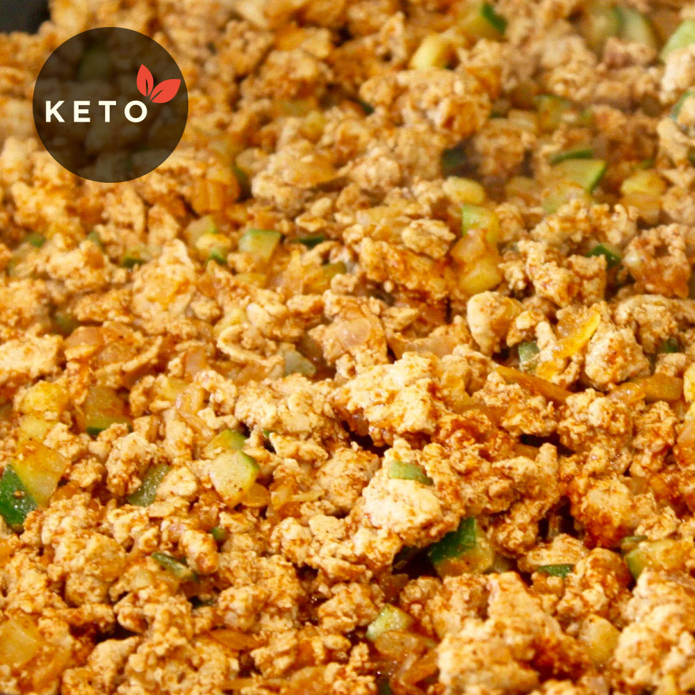 Ground Turkey w/ Choice of Vegetables & Coconut Oil (Keto)