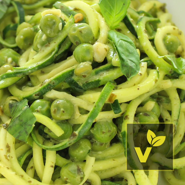 Pesto Zoodles (Vegetarian)