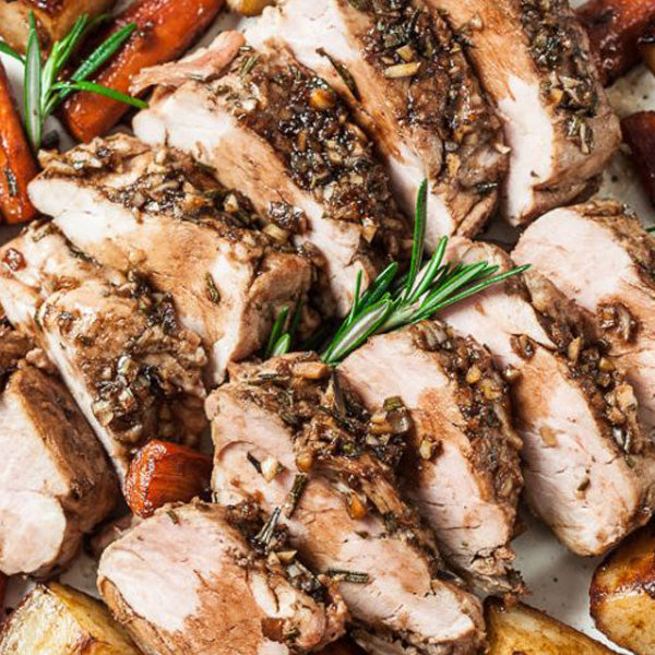 Greek Style Marinated Pork Tenderloin