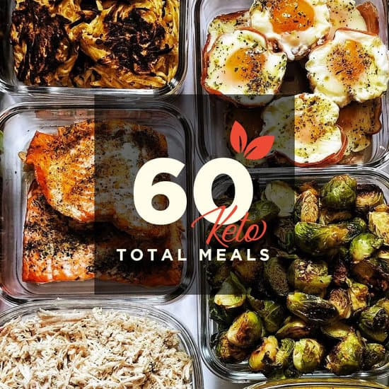 60 Meals for 30 Days (Keto)