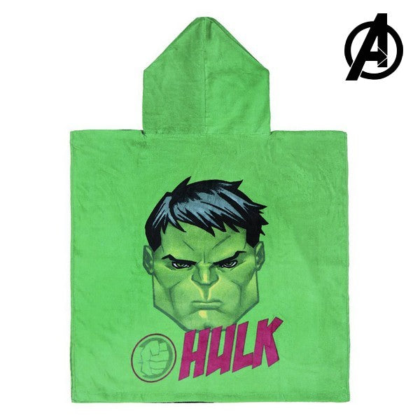 Poncho-Towel with Hood Hulk The Avengers 74157