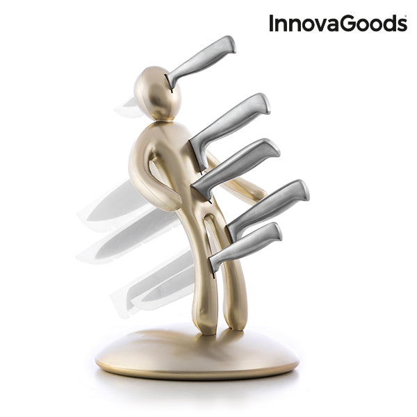 InnovaGoods Premium Vudú Knife Set (6 Pieces) - Flauven
