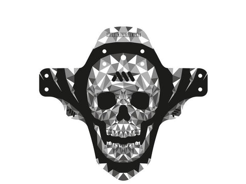 AMS MUD GUARD SKULL Mud Guard All Mountain Style