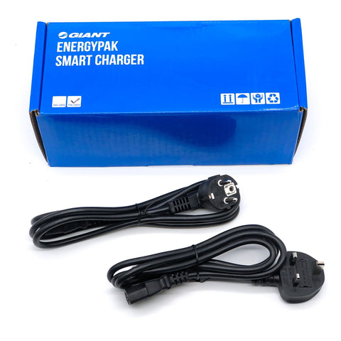 E-BIKE Giant Smart Charger 5 Pins 36V 6A with UK/Euro Power Plugs Ebike charger Electric Garage
